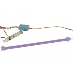 BLINKING LED BAR KIT FOR PC TUNING - UV LIGHT