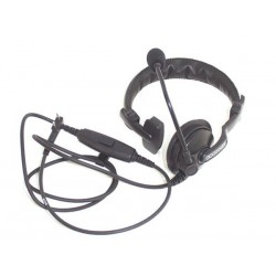 KENWOOD® KHS-7A single muff headset with boom mic, PTT