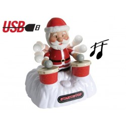 DRUMMING SANTA - USB CONNECTION