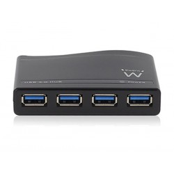 EMINENT - USB 3.0 4-PORT HUB WITH EXTERNAL POWER ADAPTER