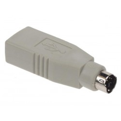 USB ADAPTER - PS2 MALE TO USB A FEMALE