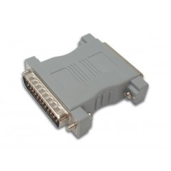 NULL MODEM ADAPTER SUBD25 MALE - SUBD25 FEMALE