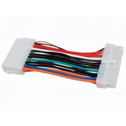 ATX POWER CABLE 20P MALE TO 24P FEMALE ( 8CM )