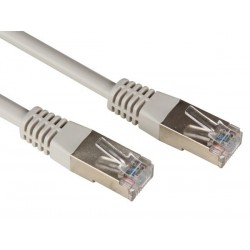 FTP NETWORK CABLE, SHIELDED RJ45, CAT 5E (100Mbps), 3m