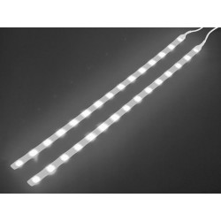 DOUBLE SELF-ADHESIVE LED STRIP - 12VDC - WHITE - WITH ON/OFF BUTTON