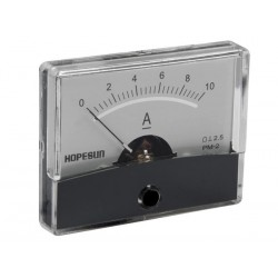 ANALOGUE CURRENT PANEL METER 10A DC / 60 x 47mm