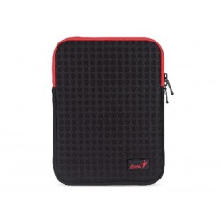 "BLACK + RED SLEEVE FOR 9-10"" iPAD OR TABLET PC GS-1021 (GENIUS)"