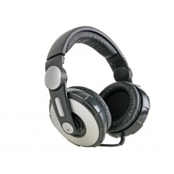 STEREO DJ HEADPHONES WITH ROTATING EARCUP