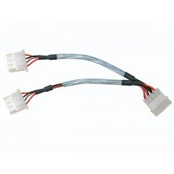 "5.25"" MALE TO 2 x 5.25"" FEMALE SPLITTER CABLE"