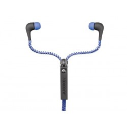 ROXCORE® - ZIPPERS -  EARPHONES - BLUE