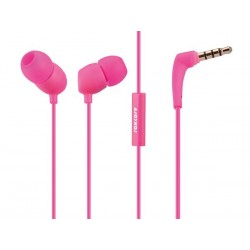 ROXCORE® - BULLETS V2 - EARPHONES & MIC - PINK