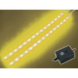 DOUBLE SELF-ADHESIVE LED STRIP WITH CONTROL UNIT, YELLOW