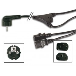 POWER CORD L 2.0m BLACK