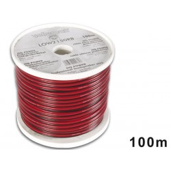 LOUDSPEAKER WIRE - RED/BLACK - 2 x 1.50mm² - 100m