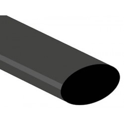 SHRINKABLE TUBE 25.4mm - BLACK
