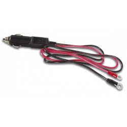 CAR PLUG EXTENSION CORD (70cm) WITH RING CONNECTORS