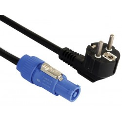 SCHUKO TO POWERCON CABLE 230V - 5m - PVC