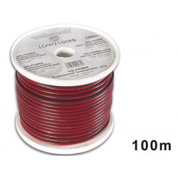 LOUDSPEAKER WIRE - RED/BLACK - 2 x 1.00mm² - 100m