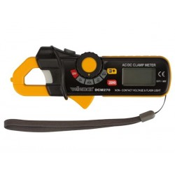HIGH SENSITIVITY MINI AC/DC CLAMP METER - CAT II 600V