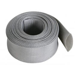 CABLE SLEEVE - FLEXIBLE - 40 MM x 5M - GREY