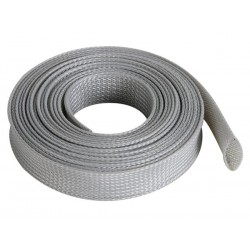 CABLE SLEEVE - FLEXIBLE - 20 MM x 5M - GREY