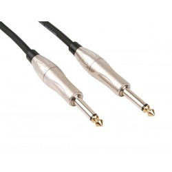PROFESSIONAL PATCH CABLE 6.35mm MONO MALE TO 6.35mm MONO MALE (2m)