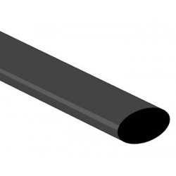 SHRINKABLE TUBE 12.7mm - BLACK