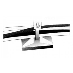 ADHESIVE FIXING FOR CABLE TIE (NOT INCL.)